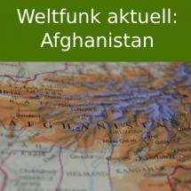 Eine Karte von Afghanistan
